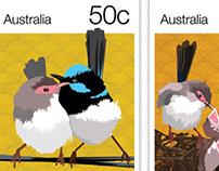 Stamp Series - Fairy Wren