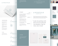 Lifestyle Oxford Gift Shop Branding