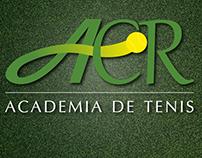 Logotipo Academia de tenis ACR