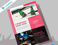 Bar & Restaurant Fold Brochure Psd
