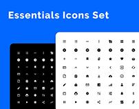FREE Essentials Icons Set