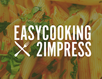 Easy cooking to impress | Logo designs