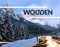 Ulotka dla hotelu Wodden