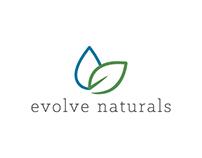 Evolve Naturals Logo Design