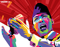 WPAP (Wedha's Pop Art Portrait)
