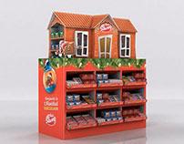 Exhibidor PLV Navidad Nestle
