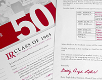 Lenoir-Rhyne University Class of 1965 Reunion Package