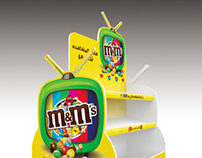 m&m's Stand
