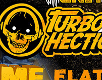 TURBOHECTIC ON TOUR POSTER