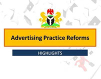 ADVERTISING PRACTICE REFORM (2012): The Highlights