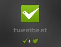 Twitter аpp logo design: TweetBest