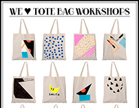 Tote Bag Workshop & Poster
