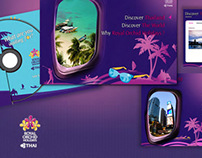 Thai Airway-Royal Orchid Holiday CD interactive