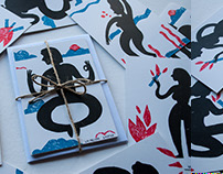 Postcards Set