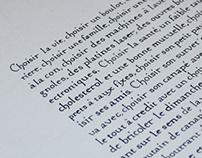 Ecriture humanistique