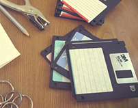 HOW TO RECYCLE A FLOPPY DISK - Handmade