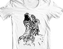Cool Gargoyle Grunge T-Shirt