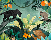The Jungle Book - Children's Story Illustration