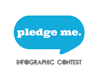 Pledge me. Infographic Contest.
