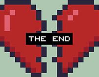 Broken heart 8Bit