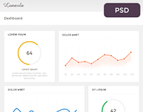 Dashboard / Admin Template Design Concept
