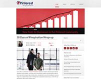 SImple & functional Blog for Pinterest .