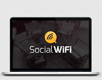 Logo, identification for Social WiFi.