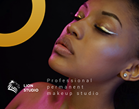 Professional permanent makeup studio website