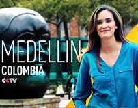 CCTV Places Michelle Begue Medellín Colombia