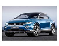 VW T-Roc Showcar (Backseats)