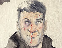 Punisher WATERCOLOR