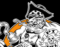 Pirate Fridays Band Mascot