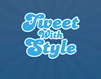 Custom Twitter Backgrounds website