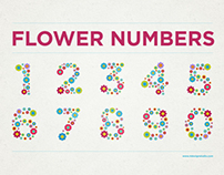 Free Flower Numbers