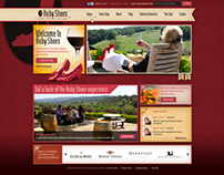 Ruby Shoes - web design