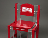 Dr. Phillips Performing Arts Center Red Chair 2012