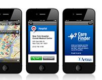 """""""Care Finder"""" Concept App"""