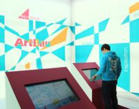 ArtBau Stand / Promediatech 2012 Exhibition