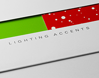 LIGHTING ACCENTS // CHRISTMAS CARD