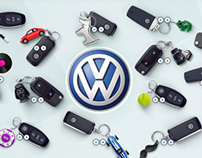 Key chain Volkswagen