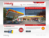 Tooley oil company - web design