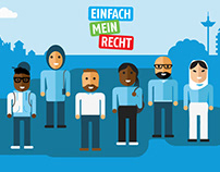 AWO - information animations for refugees in Germany
