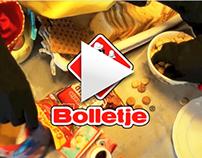 """Bolletje"" Sinterklaas advertising"