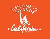 Strange California Logo and Kickstarter Marketing Tools