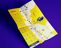 DEBRECEN City Identity Redesign ; City Map