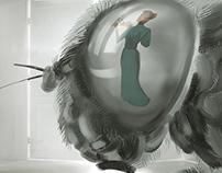 """Part of Client Storyboard F.Kafka """"Metamorphosis"""""""
