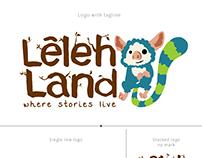 Leleh Land Logo redesign