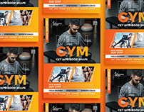 Free Gym Fitness Flyer Design Template