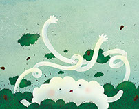 "Picture book ""Little Cloud"""