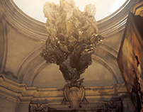 The Sant'Ignazio Church - Trapcode MIR test